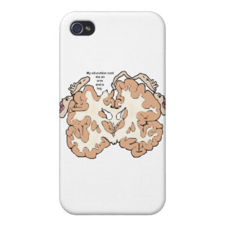 Cost an arm and a leg homunculus iPhone 4 case