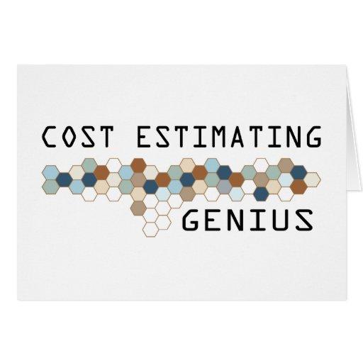 Cost Estimating Genius Cards