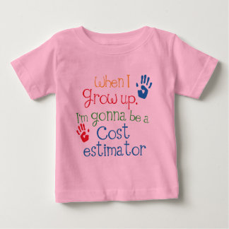 Cost Estimator (Future) Child Baby T-Shirt