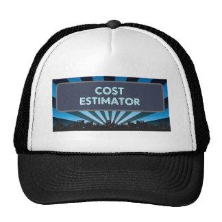 Cost Estimator Marquee Hat