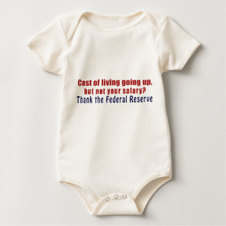 Cost of Living Going Up Thank the Federal Reserve Bodysuit