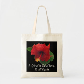 Cost of Living Tote Bag