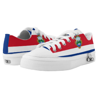 Cost Rican Flag Low-Top Sneakers