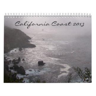Costa 2013 de California Calendario
