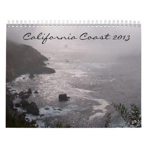 Costa 2013 de California Calendario De Pared
