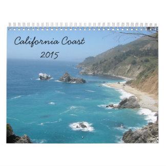 Costa 2015 de California Calendario De Pared