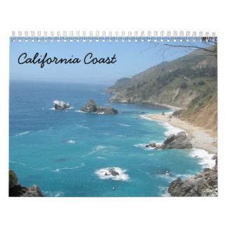 Costa 2016 de California Calendario De Pared
