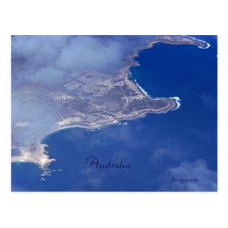 Costa australiana tarjeta postal