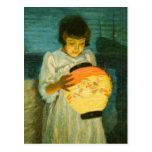 Costa azul de la linterna de Schlittgen de la noch Tarjetas Postales