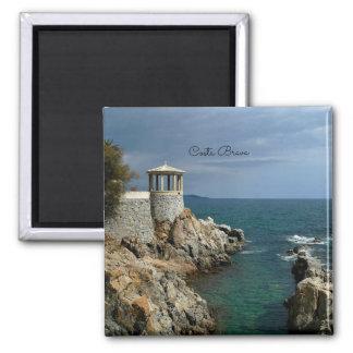 Costa Brava, Spain scenic photograph Magnet