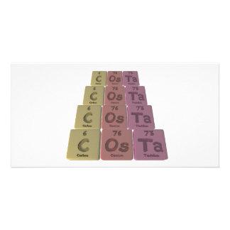 Costa-C-Os-Ta-Carbon-Osmium-Tantalum.png Personalized Photo Card