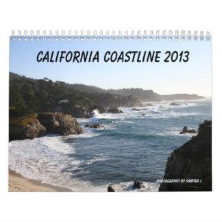 Costa costa 2013 de California Calendario De Pared