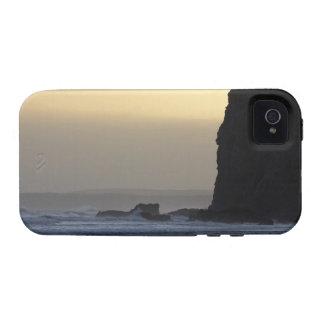 costa costa con los mares tempestuosos Case-Mate iPhone 4 funda
