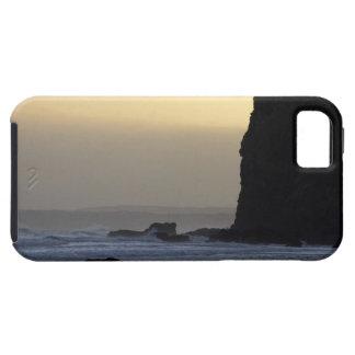 costa costa con los mares tempestuosos iPhone 5 carcasas