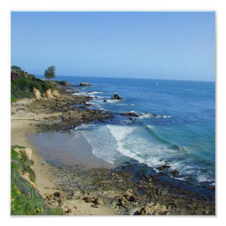 Costa costa de Corona del Mar California CA Impresiones