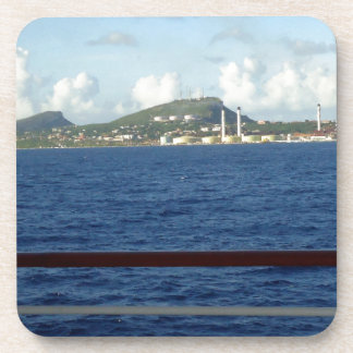 Costa costa de Curaçao Posavasos De Bebidas