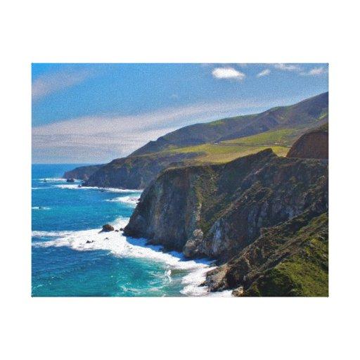 Costa costa de Hawaii Impresiones En Lona