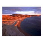 Costa costa de la isla de las capas, Bahía de Huds Postal
