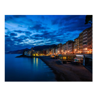 Costa costa de Liguria Italia Tarjeta Postal