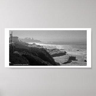Costa costa de LJ Poster