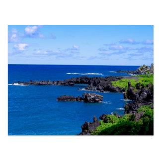 Costa costa de Maui - Hawaii Tarjetas Postales