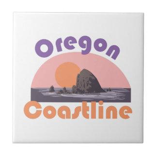Costa costa de Oregon Azulejos