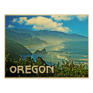 Costa costa de Oregon del vintage Postales