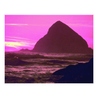 Costa, costa de Oregon, Oregon, los E.E.U.U. Tarjetas Publicitarias