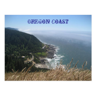Costa costa de Oregon Postales
