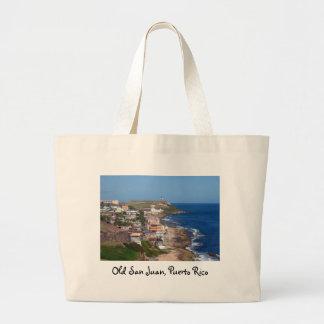 Costa costa de San Juan viejo, Puerto Rico Bolsa Lienzo