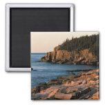Costa costa del parque nacional del Acadia, Maine Iman