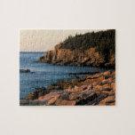 Costa costa del parque nacional del Acadia, Maine Puzzle