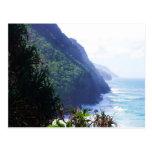 costa costa en Kauai Postales