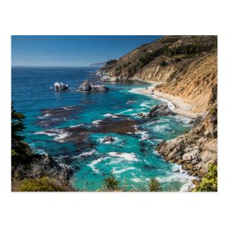 Costa costa grande de Sur, costa oeste, Costa del Tarjeta Postal