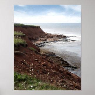 Costa costa, PEI Póster