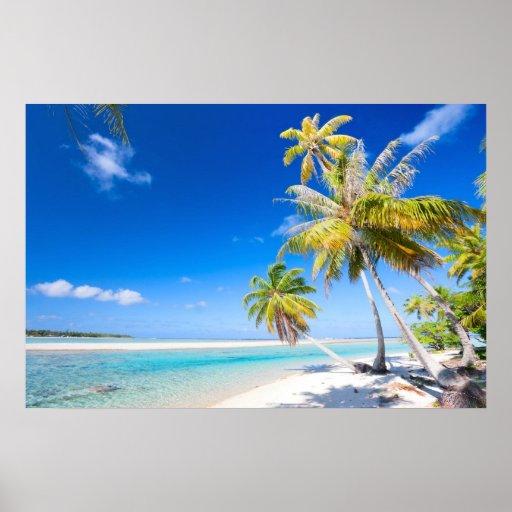 Costa costa tropical póster