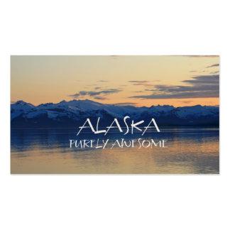 Costa de Alaska - puramente impresionante Tarjetas De Visita
