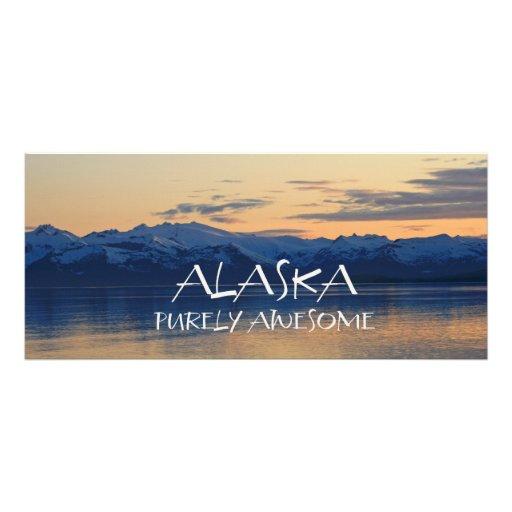 Costa de Alaska - señales puramente impresionantes Lona Personalizada