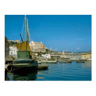 Costa de Amalfi, costa de Salerno Tarjeta Postal