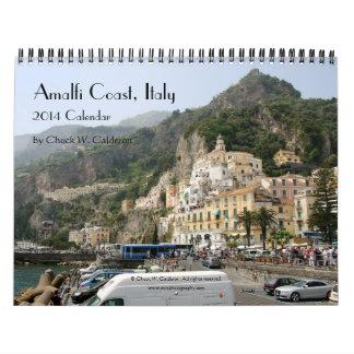 Costa de Amalfi Italia - calendario 2014