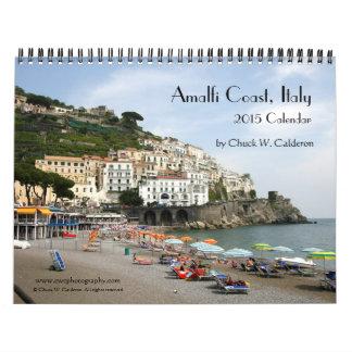 Costa de Amalfi, Italia - calendario 2015