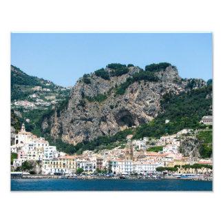 Costa de Amalfi, Italia - impresión de la foto Fotografía