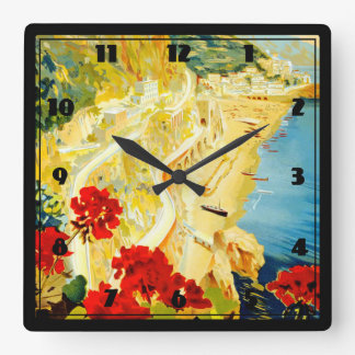 Costa de Amalfi, Italia Reloj