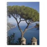 Costa de Amalfi, Ravello, Campania, Italia Cuaderno
