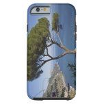 Costa de Amalfi, Ravello, Campania, Italia Funda De iPhone 6 Tough