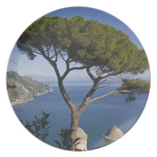 Costa de Amalfi, Ravello, Campania, Italia Platos