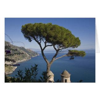 Costa de Amalfi, Ravello, Campania, Italia Tarjeta De Felicitación