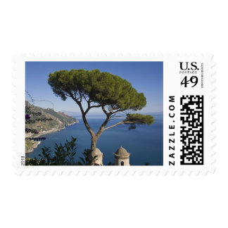 Costa de Amalfi, Ravello, Campania, Italia Timbre Postal