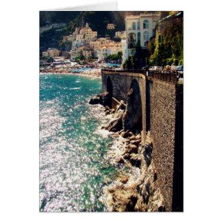 Costa de Amalfi Tarjetón