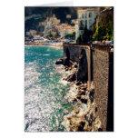 Costa de Amalfi Tarjeta De Felicitación